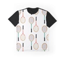 Vintage Tennis Rackets Graphic T-Shirt