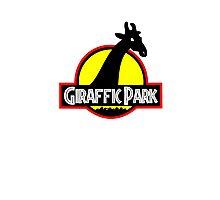 Giraffic Park Photographic Print