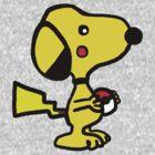 Snoopychu! by stevebluey
