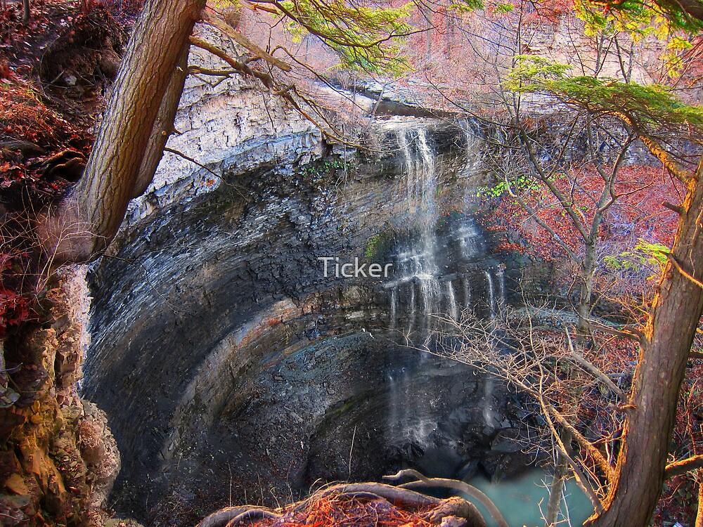 Felker's Falls by Ticker