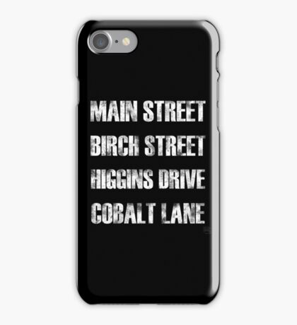Birch Street, Higgins Drive iPhone Case/Skin