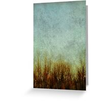 Brush Fire Greeting Card