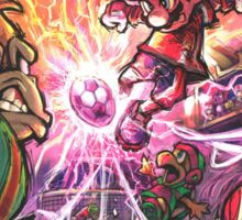 Super mario strikers Cover Sticker