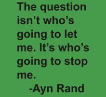 Ayn Rand One Piece - Short Sleeve