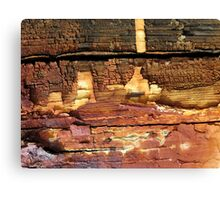 Cliffside Dwellings Canvas Print