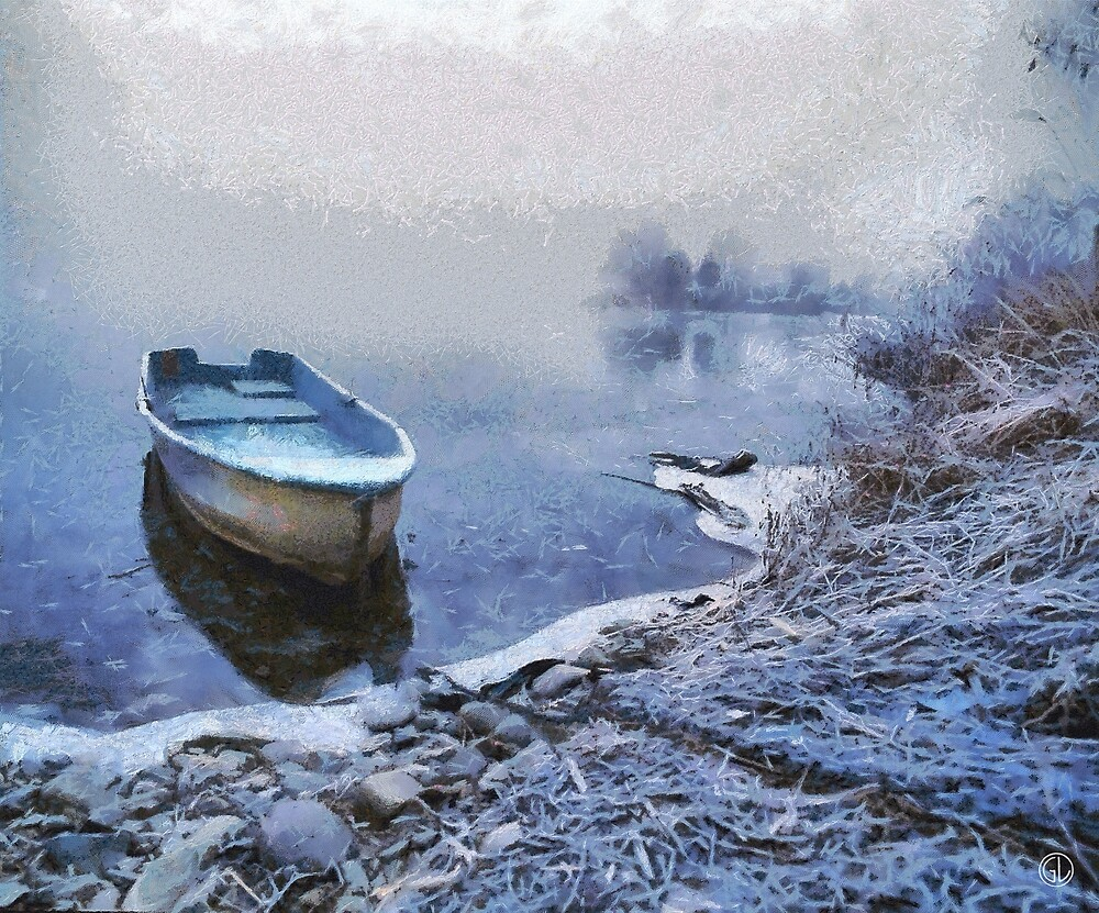 Too cold for a boat trip by Gun Legler