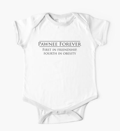 Parks and Recreation - Pawnee Forever One Piece - Short Sleeve