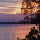 Hastings Sundown by Liz Worth