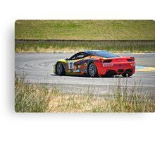 F458 Ferrari Italia II Canvas Print