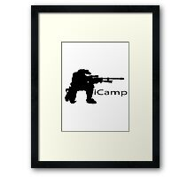 iCamp Framed Print