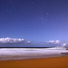 Turimetta night by Doug Cliff