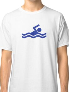 Swimming swimmer Classic T-Shirt