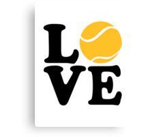 Tennis love Canvas Print