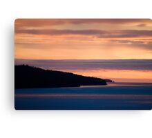 Inside Passage - Sunset Canada Coast Canvas Print