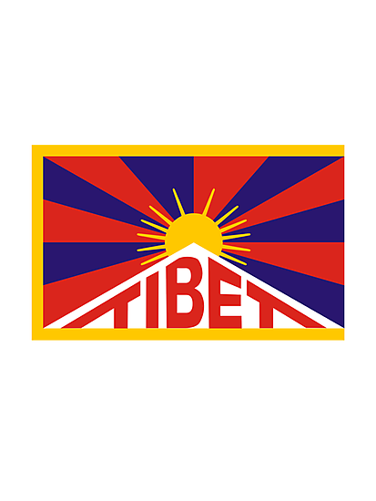 Tibet Flag by Designzz