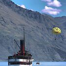 The TSS Earnslaw - Come On We&#x27;ll Race You by Larry Davis