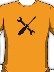 Crossed Screwdriver wrench T-Shirt