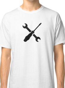 Crossed Screwdriver wrench Classic T-Shirt