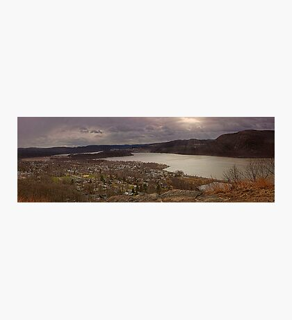 The Village of Cold Spring & The Hudson River, New York Photographic Print