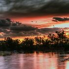 Paradise Beach On The Murray River At Cobram/Barooga by djzontheball