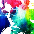 rainbow glasses profile by cocosuspenders