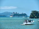' Celebrity Solstice ' at the Bay of Islands.....! by Roy  Massicks