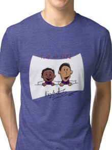 Troy and Abed Nights Tri-blend T-Shirt