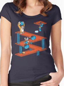 Escher Kong Women's Fitted Scoop T-Shirt