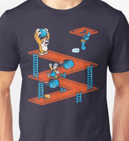 Escher Kong Unisex T-Shirt
