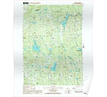 USGS TOPO Map New Hampshire NH Deering 329519 1998 24000 Poster