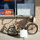 Bicycle '62: Nullarbor Roadhouse, South Australia by linfranca