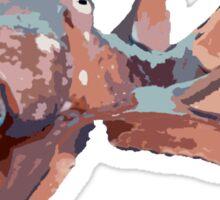 Graphic Octopus Sticker