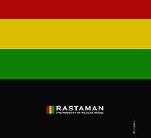 Rastaman Dreadlock Rasta by artchastudio