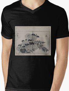Blossoms from two kinds of hydrangea 001 Mens V-Neck T-Shirt