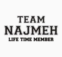 Team NAJMEH, life time member Kids Clothes