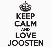 Keep Calm and Love JOOSTEN Kids Clothes