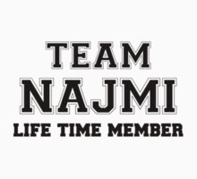Team NAJMI, life time member Kids Clothes