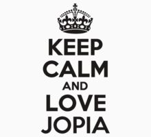 Keep Calm and Love JOPIA Kids Clothes