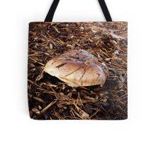 Brown Mushroom Tote Bag