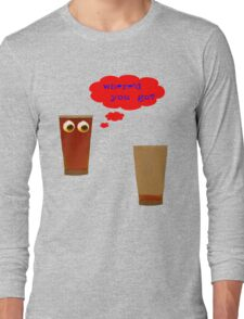 2 pints of beer Long Sleeve T-Shirt