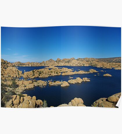 Watson Lake, Arizona Poster