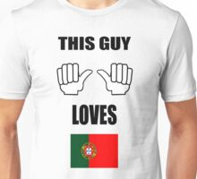 This guy loves Portugal T-Shirt