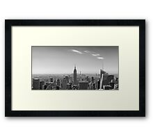 New York City - Empire State Building Panorama - 2015 Edition Framed Print