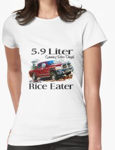 5.9 Liter Cummins Womens Fitted T-Shirt