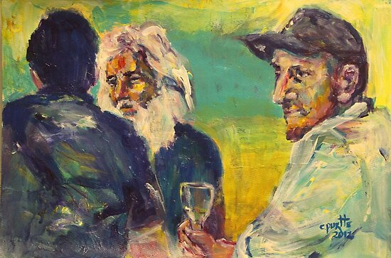 A drink with Vincent by christine purtle