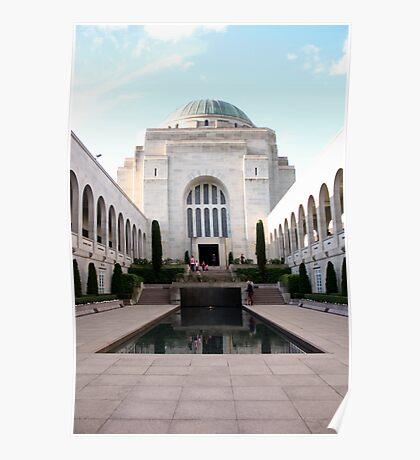 War Memorial, Canberra Poster