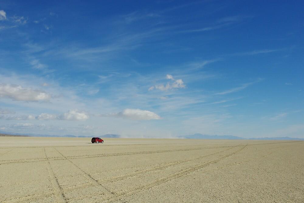 Black Rock Desert Playa, wide open by Claudio Del Luongo
