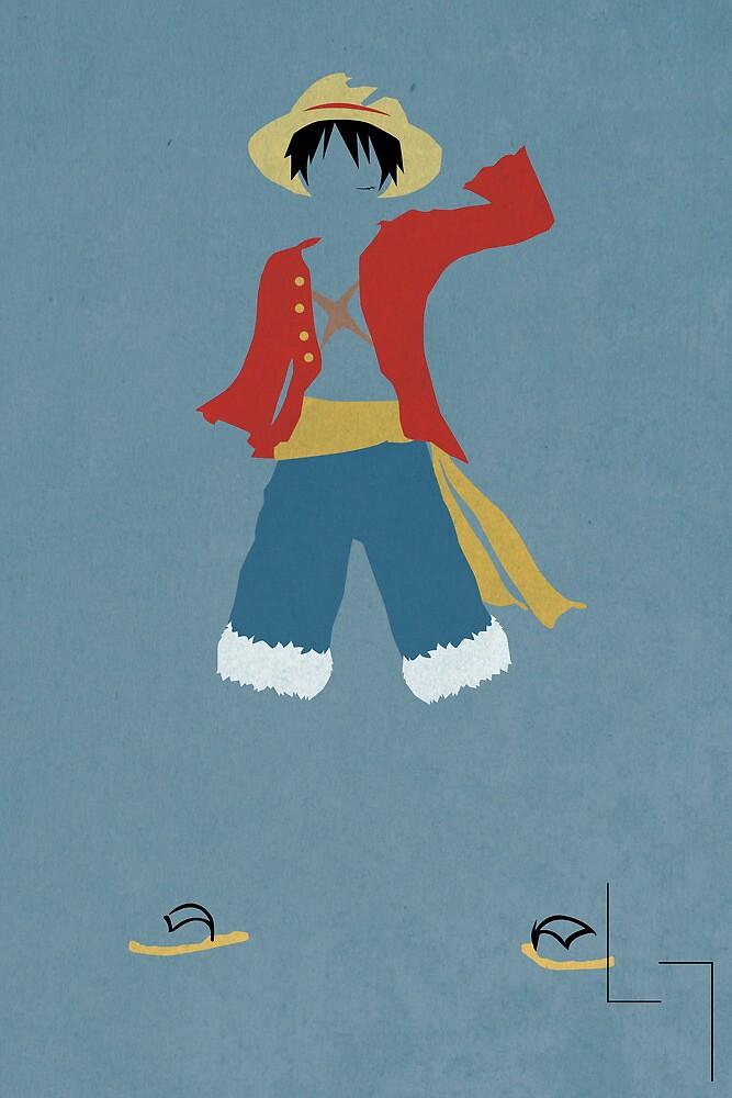 Monkey D Luffy by jehuty23
