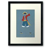 Monkey D Luffy Framed Print