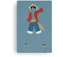 Monkey D Luffy Canvas Print